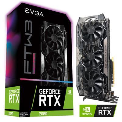 MX75106 GeForce RTX 2080 FTW3 ULTRA GAMING 8GB PCI-E w/ HDMI, Triple DP, USB-C