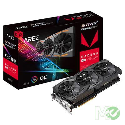 MX75239 AREZ STRIX Radeon RX VEGA 56 8GB OC PCI-E w/ DVI, Dual HDMI, Dual DP