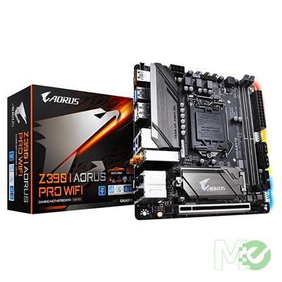 MX75364 Z390 I AORUS PRO WIFI w/ DDR4-2666, 7.1 Audio, Gigabit LAN, PCI-E x16