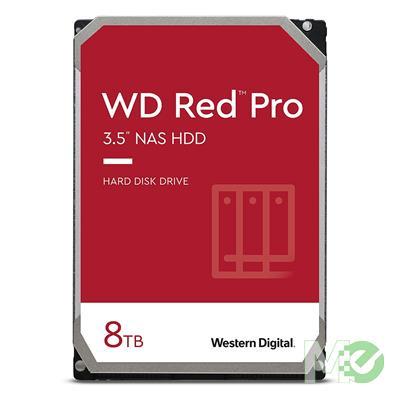 MX75467 RED Pro 8TB NAS Desktop Hard Drive, SATA III w/ 256MB Cache