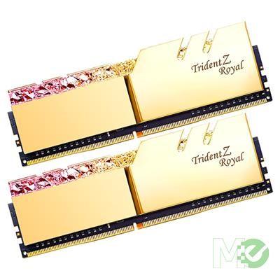 MX75587 Trident Z Royal Gold DDR4-3600 C18 RAM Kit (2x 8GB)