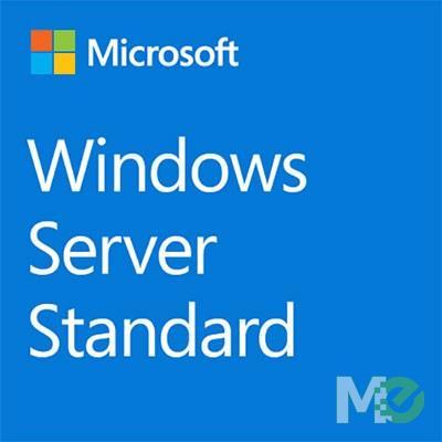 MX75606 Windows Server 2019 Standard 64-bit, 16 Cores, English, DVD, 1-Pack, OEM Edition