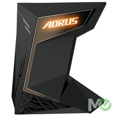 MX75657 AORUS 4-Slot NVLink 80mm SLI Bridge w/ RGB Fusion