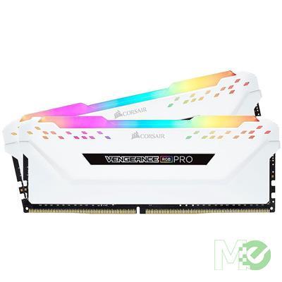 MX75761 Vengeance RGB Pro 32GB DDR4 2666MHz CL16 Dual Channel Kit (2 x 16GB), White