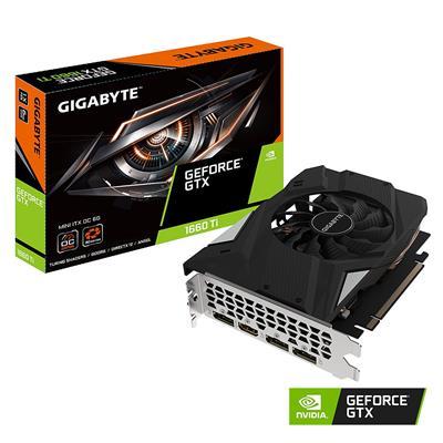 MX75810 GeForce GTX 1660 Ti MINI ITX OC 6GB PCI-E w/ HDMI, Triple DP