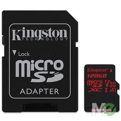 MX75924 Canvas React Class 10 UHS-I microSDXC Card, 128GB w/ Adapter