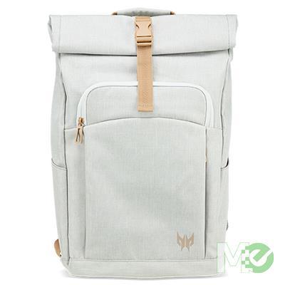 MX76030 Predator Rolltop Jr. Backpack, 15.6in, White
