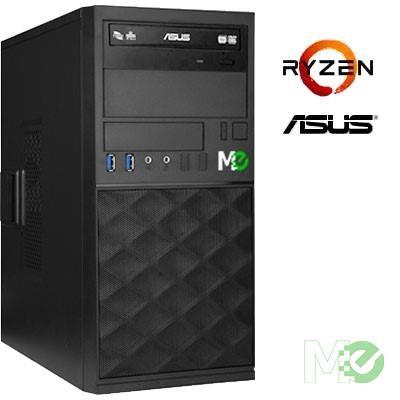 MX76087 BT3000AN Business System w/ Ryzen™ 7 2700, 16GB, 500GB M.2 NVMe SSD + 1TB HDD, DVD-RW, Quadro P620, Windows 10 Pro