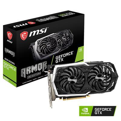MX76271 GeForce GTX 1660 ARMOR 6GB OC PCI-E w/ HDMI, Triple DP, USB-C