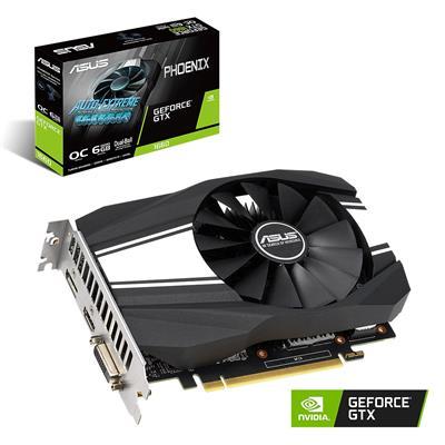 MX76346 PHOENIX GTX1660 OC GeForce GTX 1660 6GB PCI-E w/ DVI, HDMI, DisplayPort