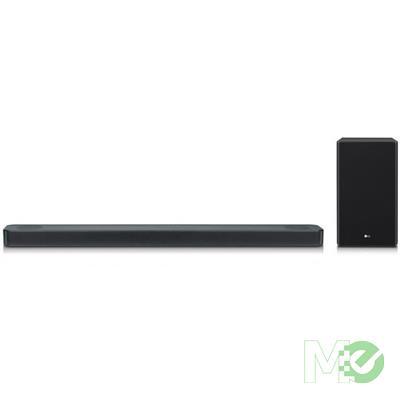 MX76465 SL8Y 3.1.2Ch 440W Soundbar w/ Wireless Subwoofer, Meridian Technology, Dolby Atmos