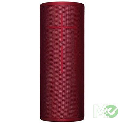 MX76507 Ultimate Ears MEGABOOM 3 Portable Wireless Speaker w/ Bluetooth, Sunset Red