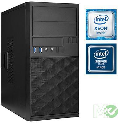 MX76513 X_ST1000I Server System (No OS) w/ Xeon® E3-1220 v6, 16GB ECC, Dual 1TB HDDs