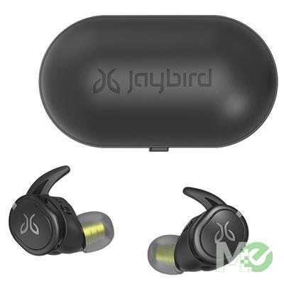 MX76551 Jaybird Run XT True Wireless Sport In-Ear Earphones w/ Bluetooth, Black-Flash