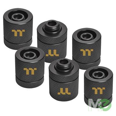 MX76821 Pacific RGB Plus TT Premium Edition G1/4 PETG Tube Fittings Kit, 6 Pack