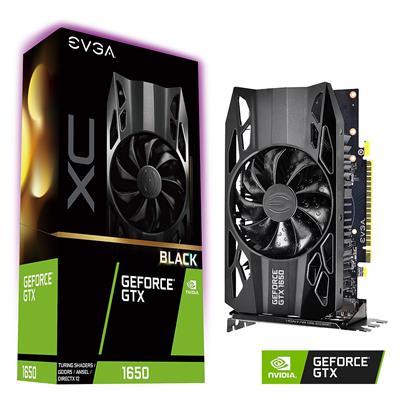 MX76823 GeForce GTX 1650 XC Black GAMING 4GB PCI-E w/ HDMI, Dual DP