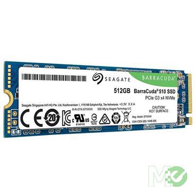 MX76899 512GB BarraCuda 510 M.2 PCIe SSD
