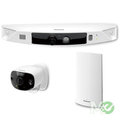 MX76971 KX-HN7052 HomeHawk Wireless HD Outdoor Camera w/ 2 Cameras