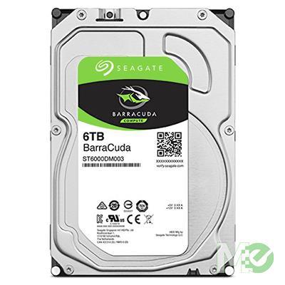 MX77000 6TB BarraCuda HDD, SATA III w/ 256MB Cache