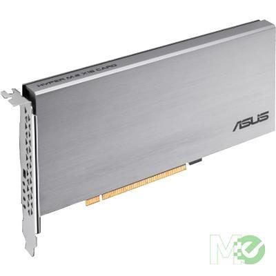 MX77058 HYPER M.2 X16 PCI-E CARD V2 w/ 4x M.2 NVMe PCIe x4 Slots