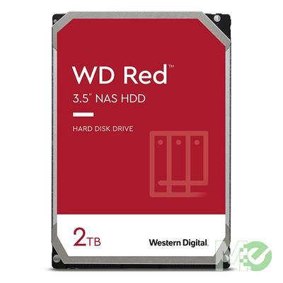 MX77059 RED 2TB NAS Desktop Hard Drive, SATA III w/ 256MB Cache