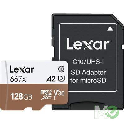 MX77071 Professional 667x microSDXC UHS-I Memory Card, 128GB
