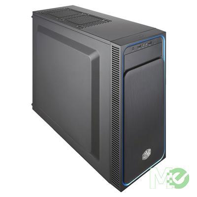 MX77093 Masterbox E500L Mid Tower Case, Black w/ Coolermaster Elite V3 500W Power Supply