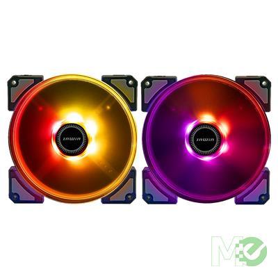 In Win Crown AC 120 ARGB LED 120mm Fan Kit, 2 Pack w/ RGB LED