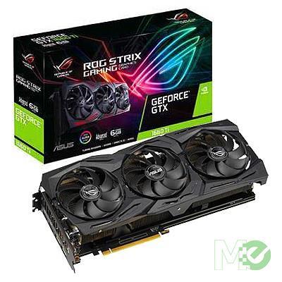 MX77237 ROG STRIX GTX1660 Ti Advanced GAMING GeForce GTX 1660 Ti 6GB PCI-E w/ Dual HDMI, Dual DP