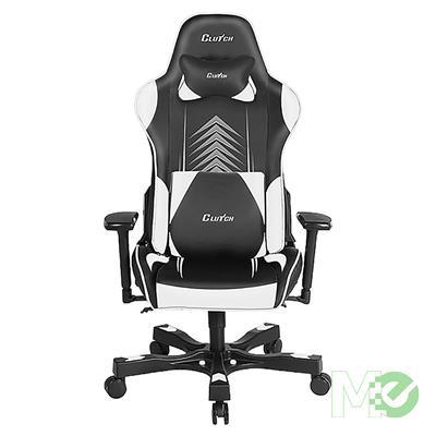 MX77244 Crank Poppaye Gaming Chair, Black / White