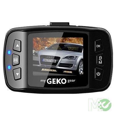 MX77261 Orbit 110 Full HD 1080p Dash Camera, 38mm Color Display w/ 8GB microSD Card