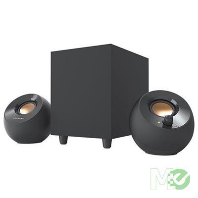 MX77310 Pebble Plus 2.1 USB Desktop Speakers w/ Subwoofer, Black