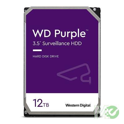 MX77346 Purple 12TB Surveillance 3.5in Hard Drive, SATA III w/ 256MB Cache