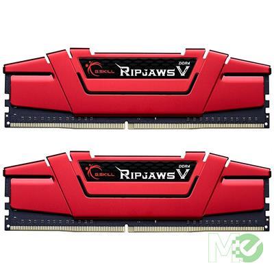 MX77574 Ripjaws V Series 16GB DDR4 3600MHz CL19 Dual Channel Kit (2x 8GB), Red