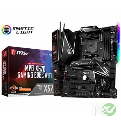 MX77618 MPG X570 GAMING EDGE Wi-Fi w/ DDR4-2666, 7.1 Audio, Dual M.2, Gigabit LAN, 802.11ac, 2-Way CrossFire
