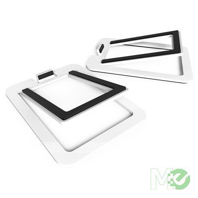MX78093 S2 Desktop Stands For YU2 Speakers, 1 Pair, Aluminum