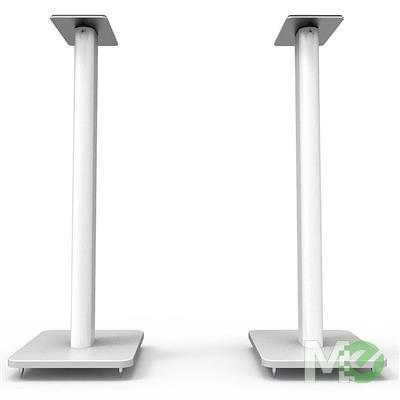 MX78102 SP Series SP26PLW Speaker Floor Stands, White