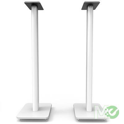 MX78103 SP Series SP32PLW Speaker Floor Stands, White