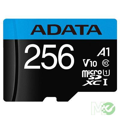 MX78159 Premier MicroSDXC / SDHC Memory Card, Class 10, V10, UHS-I, 256GB