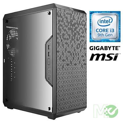 MX78171 GT1000i Gaming PC w/ Core™ i3-9100, 8GB, 480GB SSD, GeForce GTX 1650, Windows 10 Home