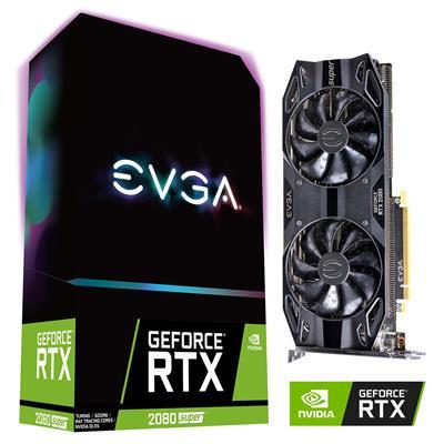 MX78183 GeForce RTX 2080 SUPER Black GAMING 8GB PCI-E w/ HDMI, Triple DP, USB-C