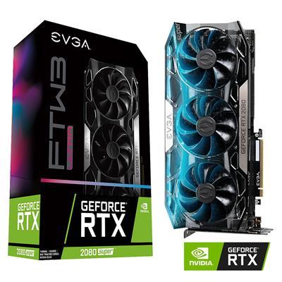MX78186 GeForce RTX 2080 SUPER FTW3 ULTRA GAMING 8GB PCI-E w/ HDMI, Triple DP, USB-C