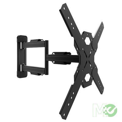 MX78205 PS300 Full Motion TV Mount for 26 to 60in TVs, Black