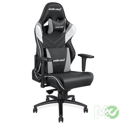 MX78214 Assassin King Gaming Chair, Black / White / Grey