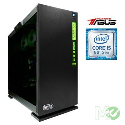 MX78242 Powered By ASUS™ PBA200i Gaming PC w/ Core™ i5-9600K, 16GB RGB, 500GB NVMe M.2 SSD + 1TB HDD, GTX 1660 Ti, Windows 10 Home