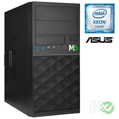 MX78298 X_ST1000I Mini Tower Server (No OS) w/ Xeon® E-2124, 16GB ECC, Dual 1TB HDDs (RAID1)
