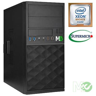 MX78357 X_ST1100iv192 Server System (NO OS) w/ Xeon® Bronze 3104, 16GB ECC Registered, 480GB Enterprise SSD