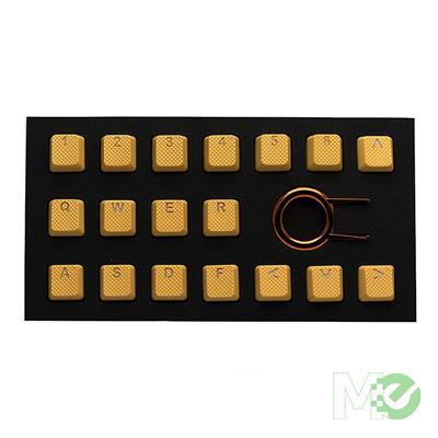 MX78466 Neon Orange Rubber Keycap Set 18 Piece