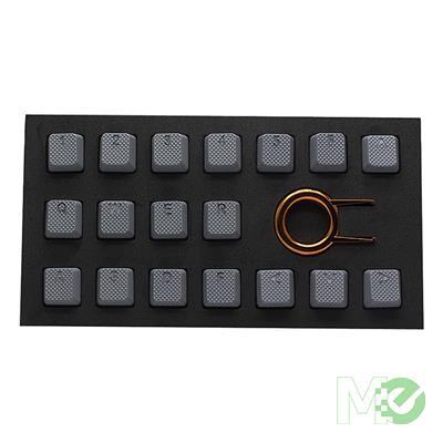 MX78467 Grey Rubber Keycap Set 18 Piece