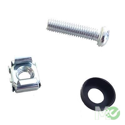 MX78568 M6 Cage Nut Kit, 50pk w/ Screws & Washers